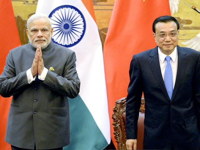 Indian-PM-Narendra-Modi-and-Chinese-Premier-Li-Keqiang-attend-a-signing-ceremony-at-the-Great-Hall-of-the-People-in-Beijing-China-AP