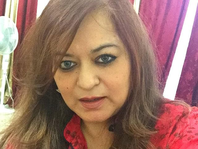 Author-Sangeeta-Bahadur-is-a-senior-Indian-Foreign-Service-officer-currently-posted-in-London-whose-novel-Vikraal-the-second-in-the-Kaal-trilogy-is-out-in-market-Facebook