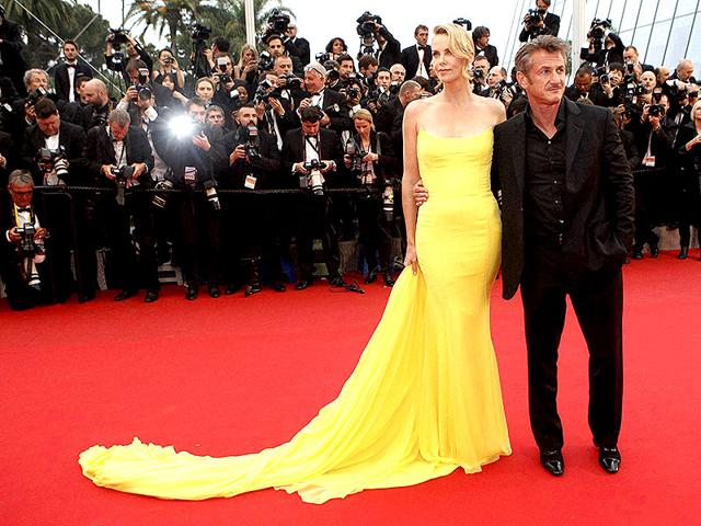 Actors-Sean-Penn-and-Charlize-Theron-pose-for-photographers-as-they-arrive-for-the-screening-of-the-film-Mad-Max-Fury-Road-at-the-68th-international-film-festival-Cannes-Thursday-AP-photo