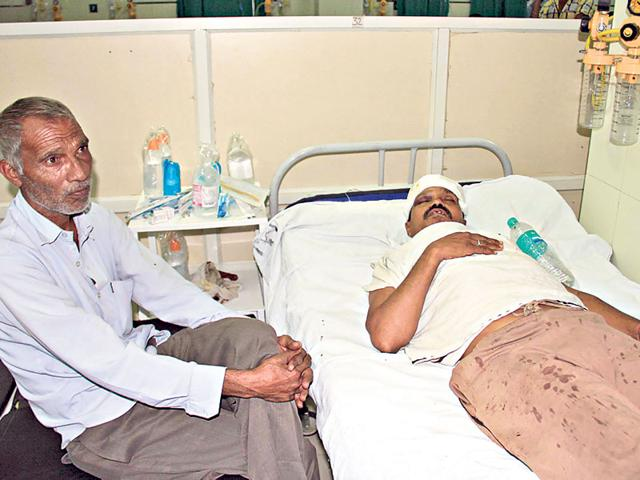 Satish-Meena-one-of-the-injured-persons-HT-photo