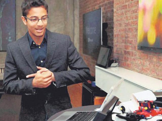 Shubham Banerjee,Braille printer,Microsoft