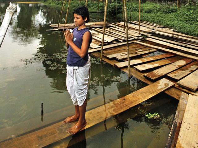 Tales from Majuli, an island on the edge