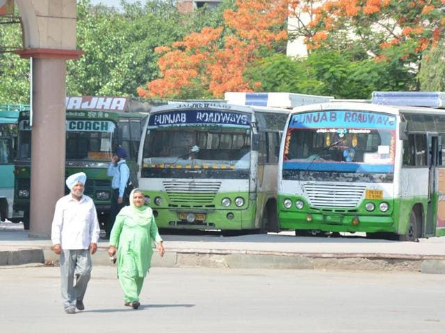 Faridkot,private buses,Pepsu Roadways Transport Corporation