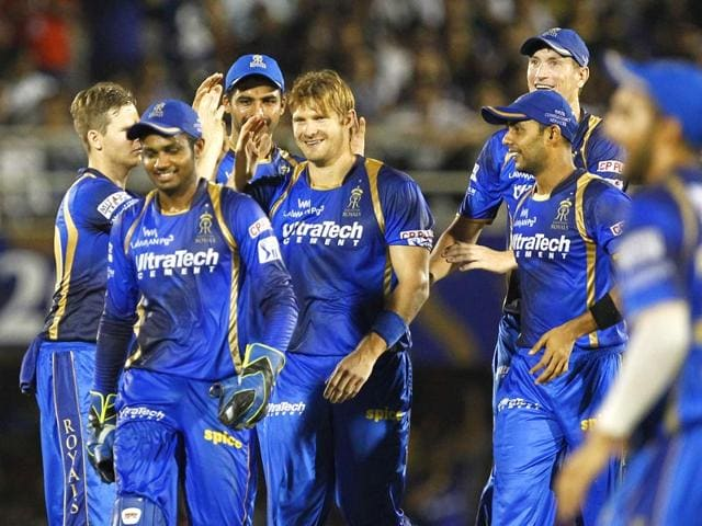 Rajasthan-Royals-RR-players-celebrate-after-taking-the-wicket-of-a-Kolkata-Knight-Riders-KKR-batsman-during-their-IPL-2015-match-in-Mumbai-on-May-16-Pratham-Gokhale-HT-Photo