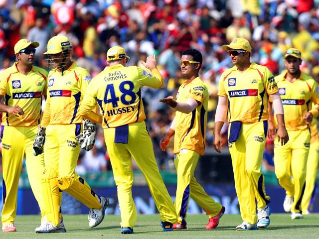 Chennai-Super-Kings-CSK-s-Pawan-Negi-celebrates-with-teammates-after-taking-the-wicket-of-a-Kings-XI-Punjab-KXIP-batsman-in-the-IPL-2015-match-between-the-two-sides-in-Mohali-on-May-16-Gurpreet-Singh-HT-Photo