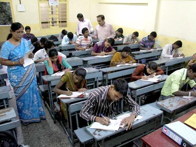 Telangana-has-recorded-a-pass-percentage-of-77-56-in-the-first-ever-Secondary-School-Certificate-exams-conducted-by-the-new-state-HT-file-photo