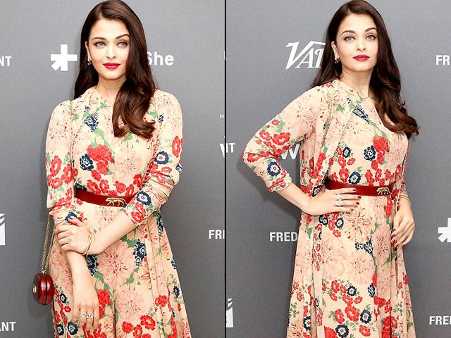 Aishwarya-Rai-Bachchan-poses-for-photographers-on-arrival-at-the-Variety-and-UN-Women-Panel-discussion-at-Cannes-Aishwarya-was-wearing-a-Sabyasachi-dress-AP-photo
