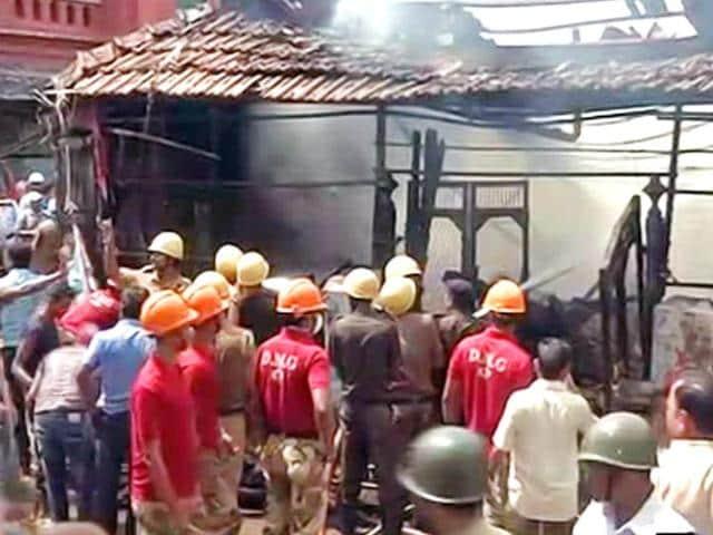 Kolkata New Market,Kolkata New Market fire,fire accident