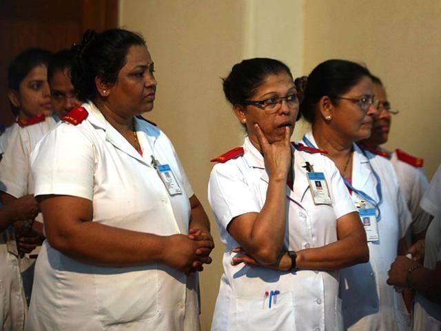Aruna Shanbaug,Aruna Shanbaug's nurses,Vinod Tawde