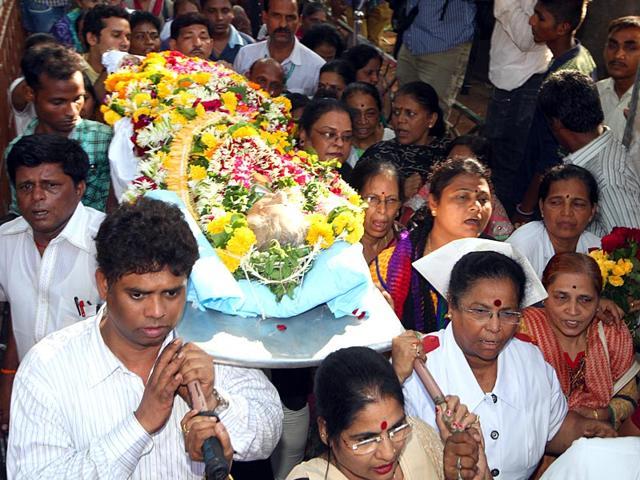 Aruna Shanbaug,Aruna Shanbaug death,KEM hospital