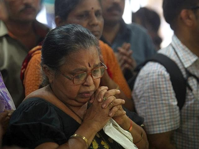 Nurses-and-the-staff-of-KEM-hospital-in-Mumbai-bid-adieu-to-Aruna-Shanbaug-Shanbaug-after-being-in-a-vegetative-state-for-more-than-four-decades-following-her-brutal-rape-in-1973-died-in-Mumbai-Kunal-Patil-HT-photo
