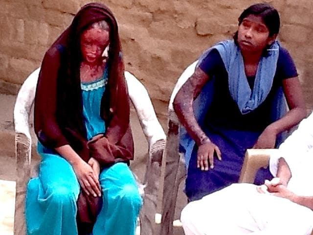 Acid-attack-victim-Chanchal-left-with-her-sister-Sonam-who-was-also-injured-in-the-attack-File-photo