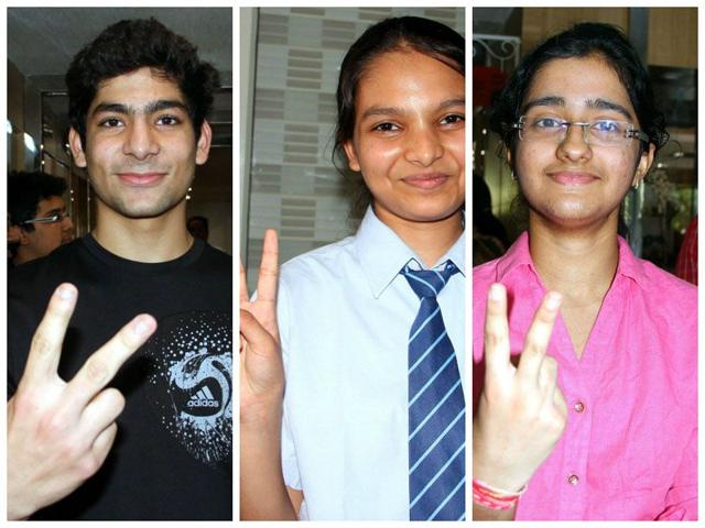 Punjab-PMET-Toppers-Terry-Mathew-Diksha-Samsukha-Nandita-were-ranked-27th-41-32-in-the-entrance-exam-HT-Photo