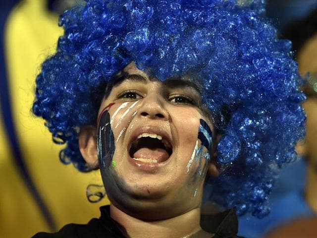 A-Mumbai-Indians-fan-cheers-his-team-at-Wankhede-Stadium-After-four-straight-losses-MI-scripted-a-turnaround-in-the-league-stage-Satish-Bate-HT-Photo