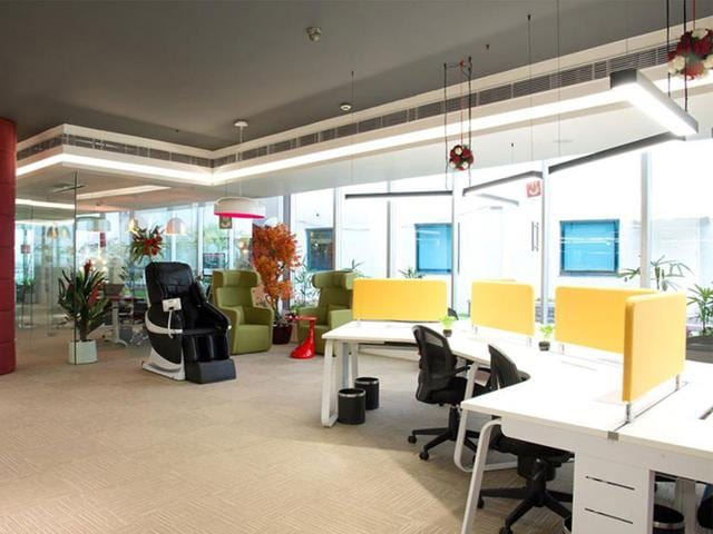 A-massage-chair-on-office-premises-of-an-IT-company-that-helps-techies-relax-in-between-work-HT-photo