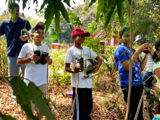 Around-20-people-along-with-10-children-were-a-part-of-the-plantation-drive-in-Mumbai-HT-photo