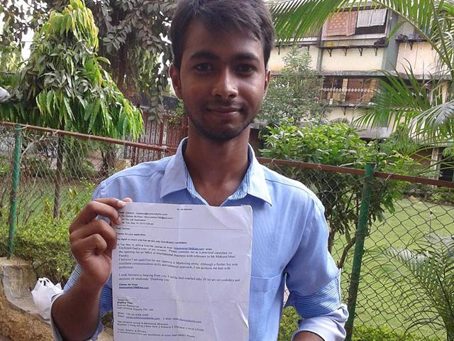 MBA-graduate-Zeshan-Ali-Khan-who-was-allegedly-denied-job-for-being-Muslim-narrated-his-story-to-the-media-HT-photo
