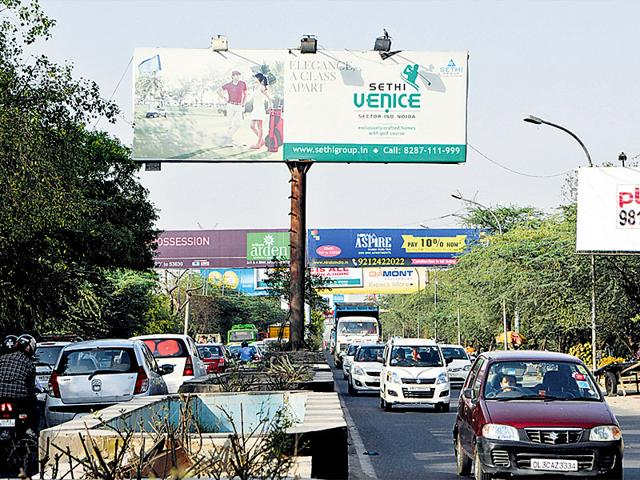 Noida,Authority,Hoardings