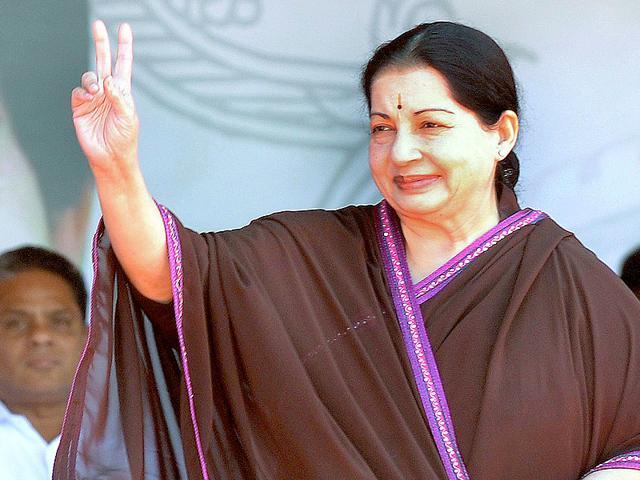 AIADMK-chief-J-Jayalalithaa-will-take-oath-as-CM-of-Tamil-Nadu-on-Saturday-AFP-Photo