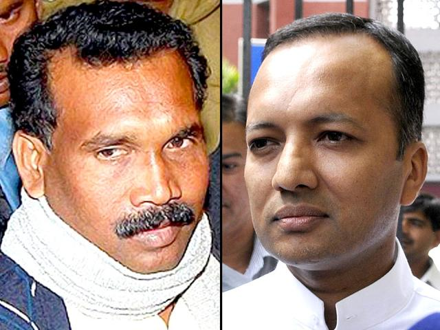A-combination-photo-of-Congress-leader-Naveen-Jindal-and-former-Jharkhand-CM-Madhu-Koda