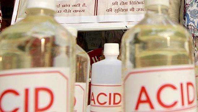 Acid Attack,Agra,Acid