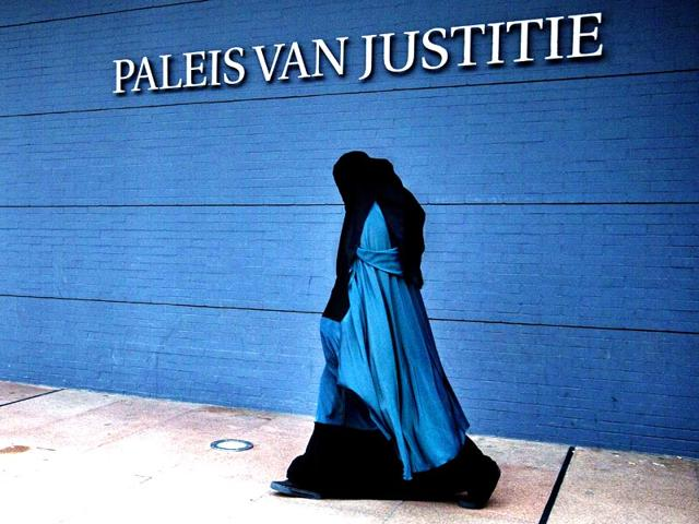 A-file-photo-of-a-burqa-wearing-woman-in-Holland-The-Dutch-cabinet-approved-on-May-22-2015-a-partial-ban-on-wearing-the-face-covering-Islamic-veil-AFP-Photo