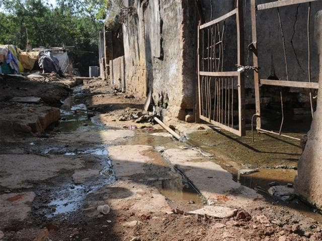 Slaughterhouse-at-Jinsi-in-Bhopal-The-NGT-has-asked-the-Bhopal-Municipal-Corporation-to-identify-an-alternate-site-within-two-months-so-that-the-abattoir-can-be-shifted-HT-photo