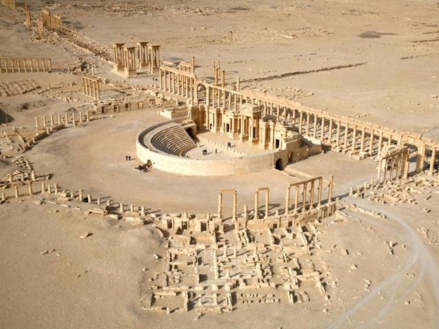Palmyra,Islamic State,Funeral towers