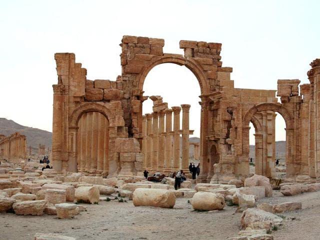 Islamic State,Syria,Palmyra