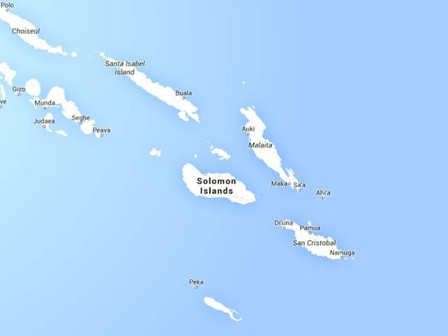 Solomon Islands,quake,6.8 magnitude