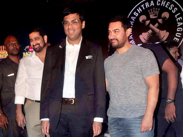 Viswanathan Anand,Aamir Khan,Chess