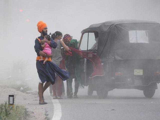 duststorm,Wednesday,Chandigarh