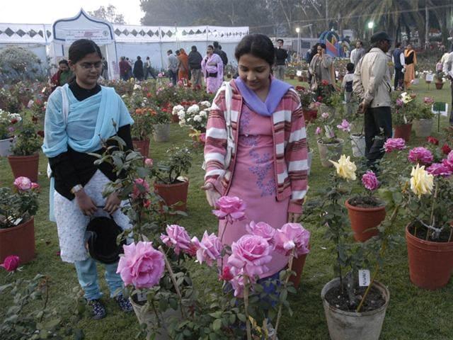 Bhopal rose gardens