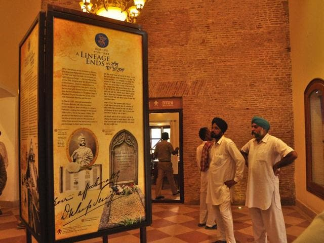 Visitors-at-the-200-year-old-Maharaja-Duleep-Singh-Memorial-after-it-has-been-opened-to-the-public-HT-photo