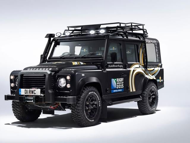 Land Rover,Rugby World Cup,Webb Ellis Cup