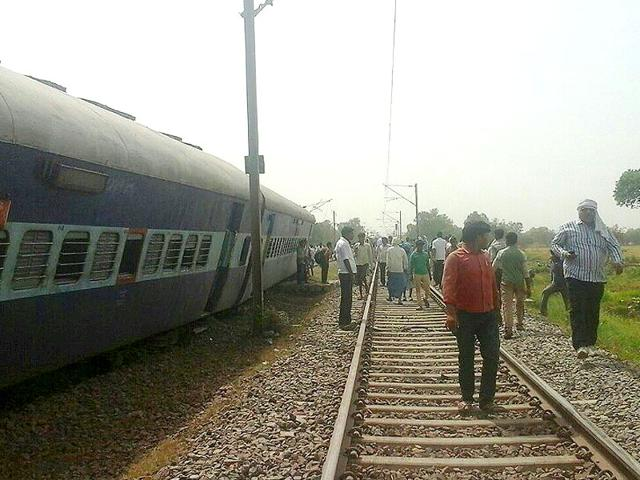 The-accident-took-place-near-Sirathu-station-in-Kaushambi-district-over-170-km-from-Lucknow-HT-Photo