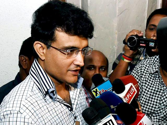 Former-cricketer-and-IPL-Governing-Council-member-Sourav-Ganguly-talking-to-the--media-after-attending-BCCI-IPL-Governing-Council-meeting-in-Kolkata-PTI-Photo