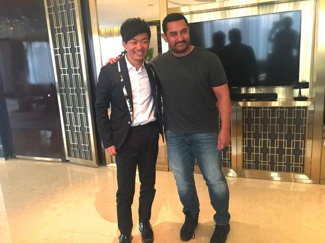 Aamir Khan,PK,Chinese actor