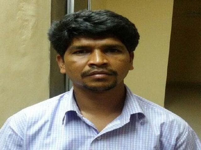 Wanted-Maoist-Dilip-Uikey-alias-Guha-arrested-in-Balaghat-on-Friday-HT-photo