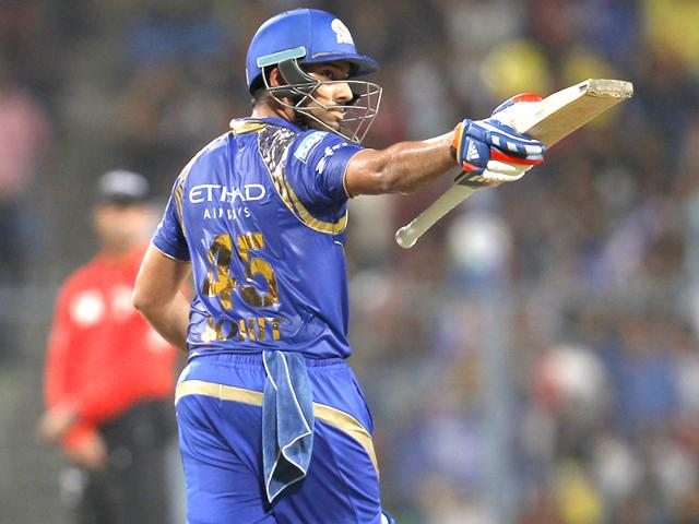 Rohit-Sharma-of-Mumbai-Indians-after-completing-his-half-century-against-Chennai-Super-Kings-during-the-Indian-Premier-League-IPL-T20-Season-8-Final-match-at-Eden-Gardens-in-Kolkata-Photo-by-Ajay-Aggarwal-HT-Photo