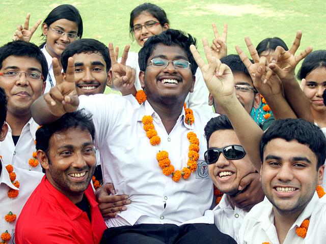 Lucknow-boy-Anirudh-Deb-topped-in-the-CBSE-Class-12-examination-from-Allahabad-region-HT-photo