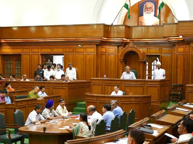 Opposition-leader-Vijender-Gupta-speaks-during-the-Special-session-of-the-Delhi-Assembly-New-Delhi-PTI-Photo