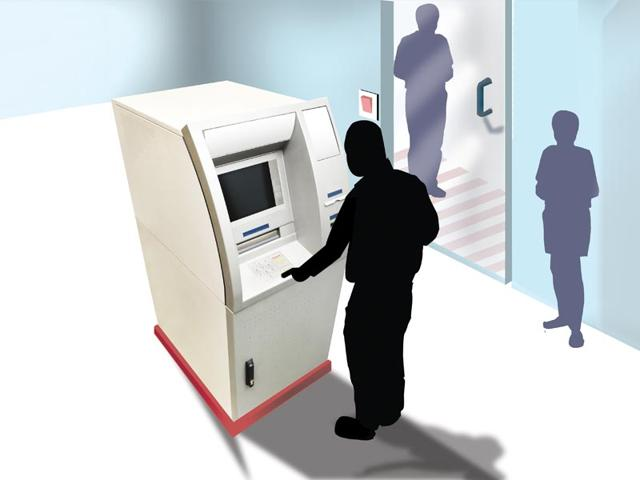 Crime,ATM,Gurgaon