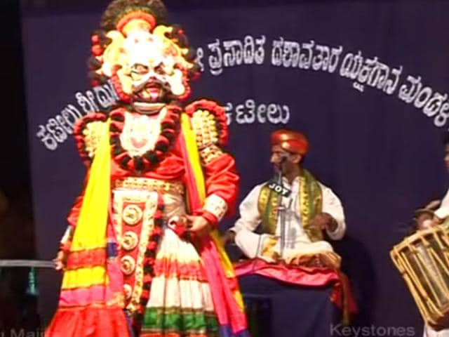 The-troupe-will-perform-Devi-Mahatme-one-of-the-most-popular-Yakshaganas-ever-Devi-Mahatme-Youtube-grab