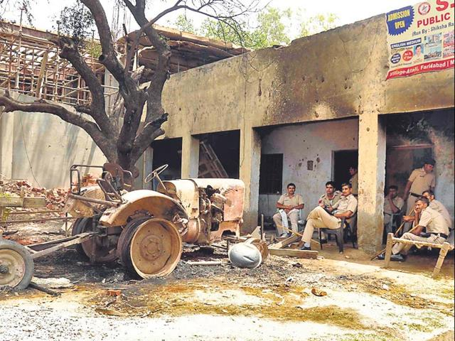 Faridabad,communal clash,land dispute