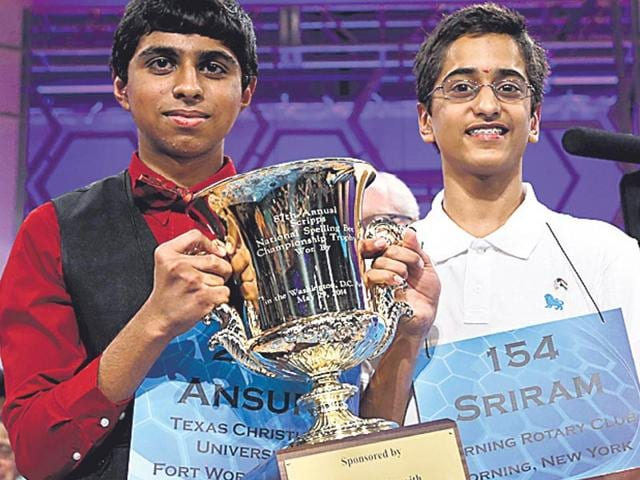 Sriram-Hathwar-R-and-Ansun-Sujoe-L-won-the-Spelling-Bee-competition-last-year-Indian-Americans-have-won-the-Bee-for-seven-years-running-now-and-10-in-the-last-13-years-Getty-Images