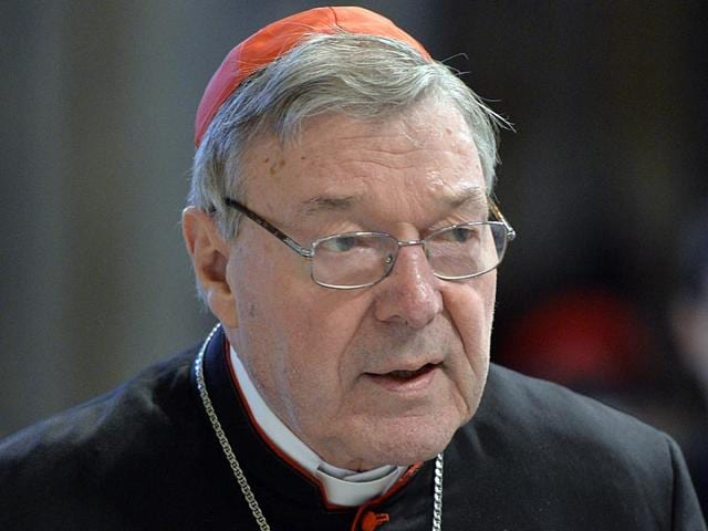 Australian-Cardinal-George-Pell-Prefect-of-the-Secretariat-for-the-Economy-of-the-Holy-See-arriving-to-attend-mass-for-Holy-Thursday-at-St-Peter-s-basilica-in-Vatican-AFP-Photo