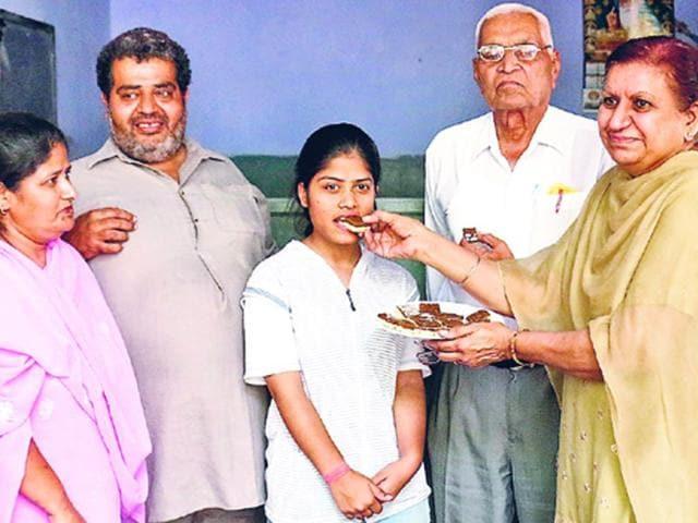 Punjab School Education Board,Ridhi Jain,SAS Nagar