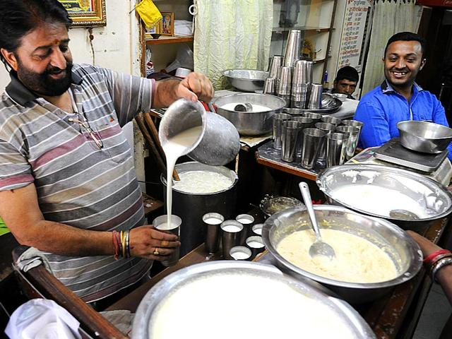 Punjabi lassi has always been a summer favourite. (Shankar Mourya/HT Photo)