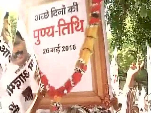 Aam-Aadmi-Party-held-a-protest-in-New-Delhi-on-Wednesday-against-the-BJP-government-ANI-Photo